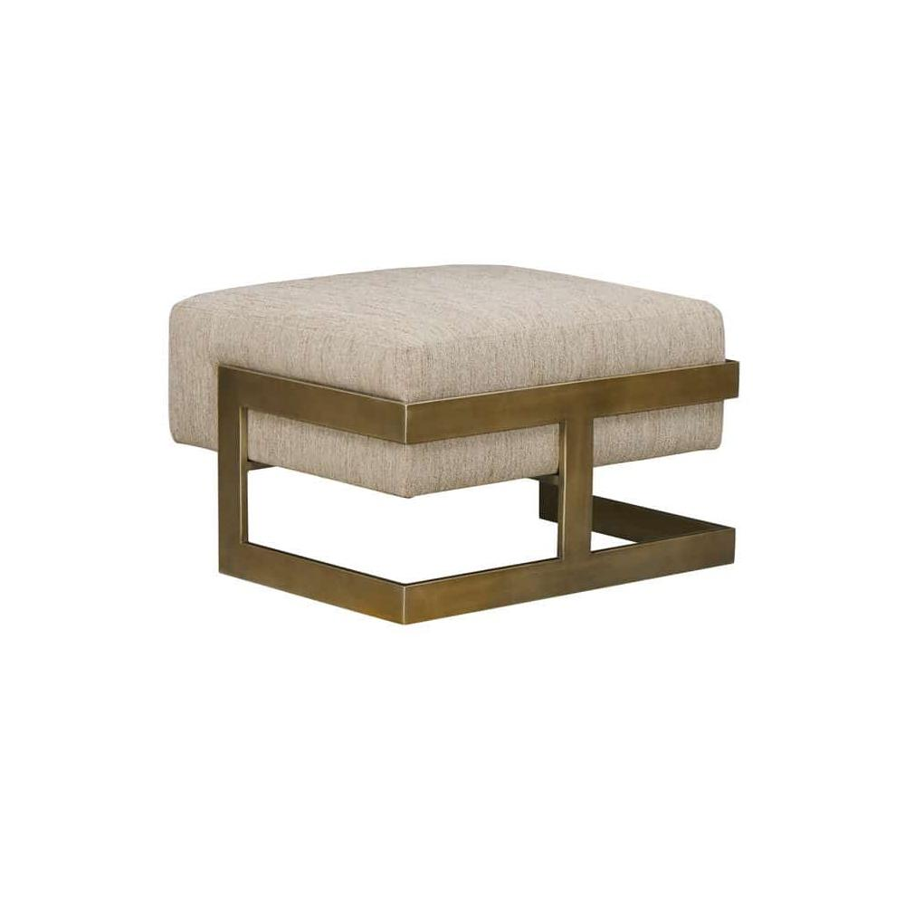 See Details - Woodwright Winslow Ottoman