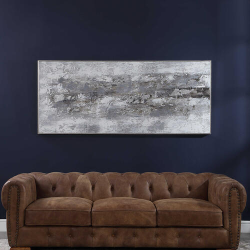 Product Image - Weathered Stone Hand Painted Canvas