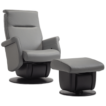 The Quebec glider is part of the AvantGlide collection and features square seatback and armrests.