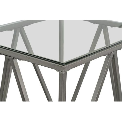 Standard Furniture - Kendra End Table, Pewter
