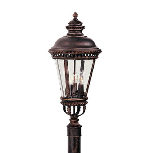 Castle Large Post Lantern Grecian Bronze