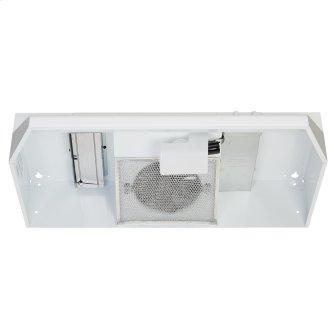 Broan™ BU3 Series 24-inch Under-Cabinet Range Hood, 260 Max Blower CFM, White