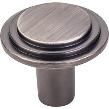 "1-1/4"" Diameter Stepped Cabinet Knob."