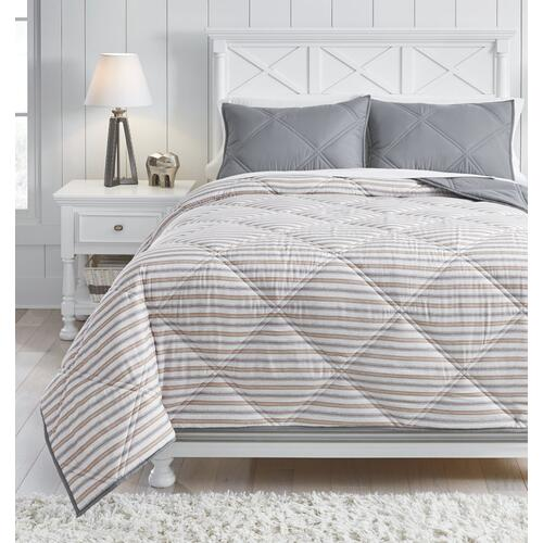 Rhey 3-piece Full Comforter Set