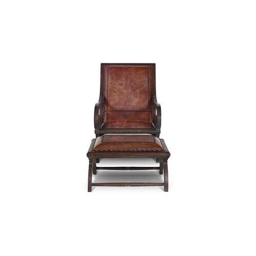 Lazy Chair w/ Footstool Set