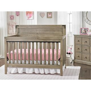 Fisher-Price Paxton Convertible Crib, Vintage Grey