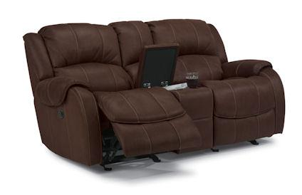 Pure Comfort Power Love Seat w/Console