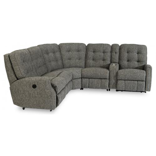 Devon Power Reclining Sectional