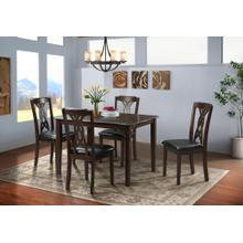 Amanda Dining Set - Table and 4 Chairs