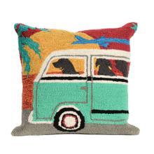View Product - Liora Manne Frontporch Beach Trip Indoor/Outdoor Pillow Sunset