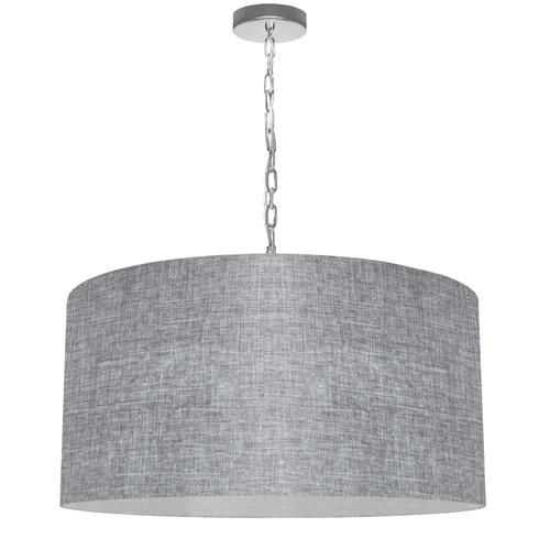 Product Image - 1lt Braxton Large Pendant, Gry/clr Shade, PC