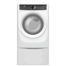 See Details - Front Load Perfect Steam™ Electric Dryer with 7 cycles - 8.0 Cu. Ft.