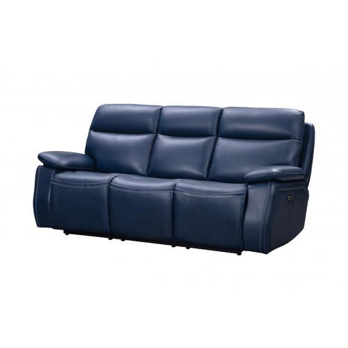 Gallery - Micah Navy-Blue Sofa