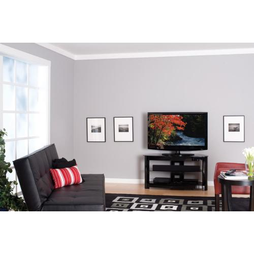 """Media Console - Corner TV Stand for TVs up to 56"""""""