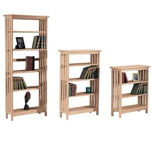 Mission Book Shelves