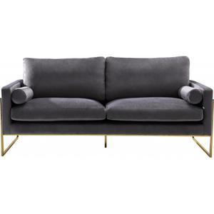 """Mila Velvet Sofa - 80"""" W x 36.5"""" D x 35"""" H"""