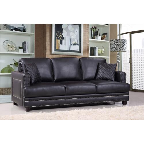 "Ferrara Leather Sofa - 83.5"" W x 35"" D x 34"" H"