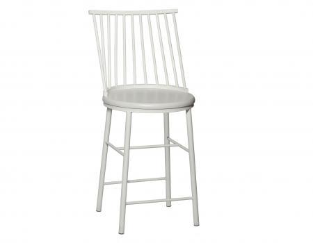 Frida Counter Chair - White