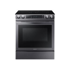 Samsung Appliances5.8 cu. ft. Slide-In Electric Range in Black Stainless Steel