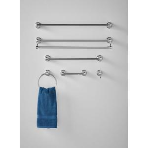 "Hilliard chrome 18"" towel bar"