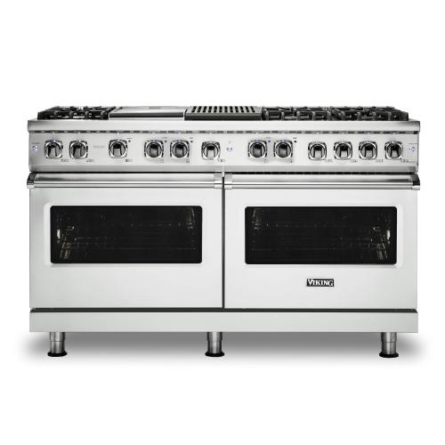 "60"" Dual Fuel Range - VDR560 Viking 5 Series"