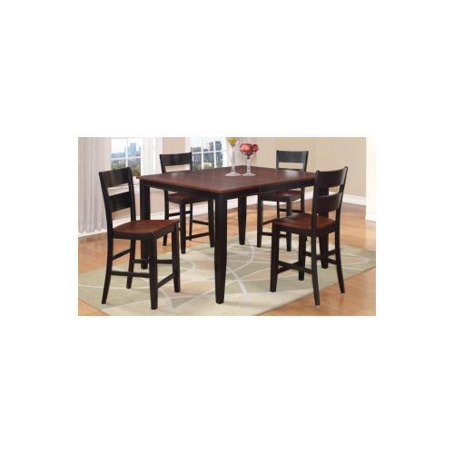 7 Piece Pub - Pub Table and Six Pub Chairs