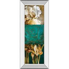 """""""From My Garden Il"""" By Linda Thompson Mirror Framed Print Wall Art"""