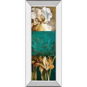 "Classy Art - ""From My Garden Il"" By Linda Thompson Mirror Framed Print Wall Art"