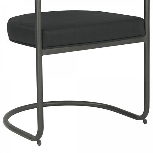 Armen Living Denis Contemporary Metal Dining Chair