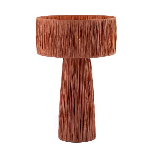 Shelby Rafia Brick Table Lamp