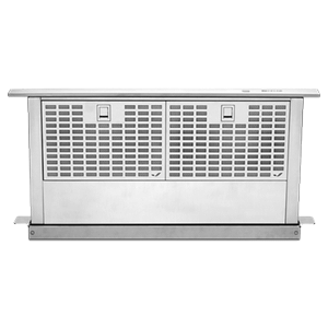 "Jenn-AirEuro-Style Stainless 36"" Telescoping Downdraft Ventilation"