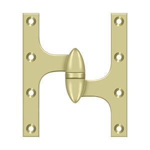 "Deltana - 6"" x 5"" Hinge - Unlacquered Brass"