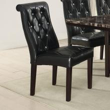 Maura Dining Chair, Black-v2