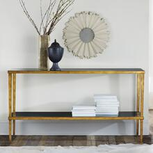 Wrought and Gilded Console