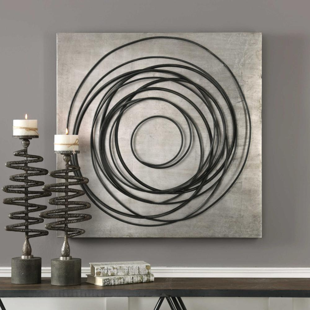 See Details - Whirlwind Metal Wall Decor