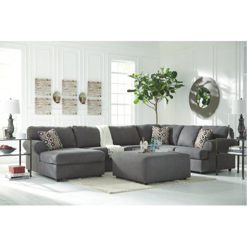 Jayceon 3-piece Sectional With Chaise Steel