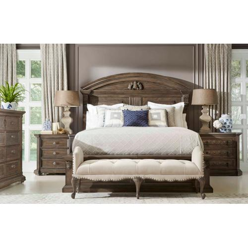 A.R.T. Furniture - Vintage Salvage Queen Chambers Panel Bed