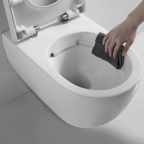 "metrix 3/6L / 0.8/1.6G dual flush, wall-mount toilet 21 1/2"" x14 1/4"" x13"", in wall tank required"