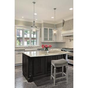 Hillsdale Furniture - Vetrina Backless Counter Stool, Gray