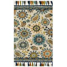 View Product - FH-01 Ivory / Blue Rug