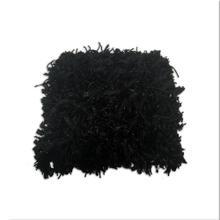 Black Zilmil Shaggy Pillow