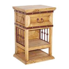 See Details - Iron Hierro Night Stand
