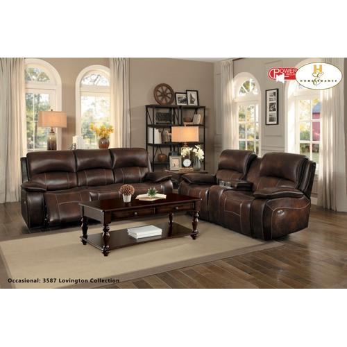 Mahala Power Sofa and Love Seat