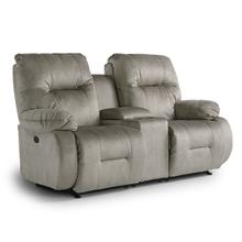 BRINLEY ROCKING Reclining Loveseat W/CONSOLE in Flint        (L700RC7-20147,44979)