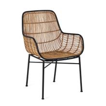 See Details - Carrera Woven Wicker Chair
