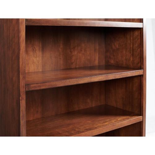 Clinton Hill - Open Bookcase - Classic Cherry Finish