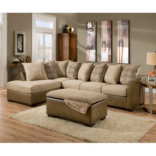 Simmons Upholstery - Laf Bump Sofa