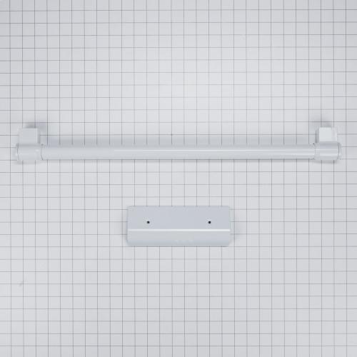 Bottom Mount Refrigerator Handle Kit - White