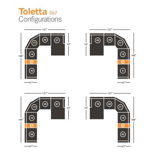 Toletta Console With Storage