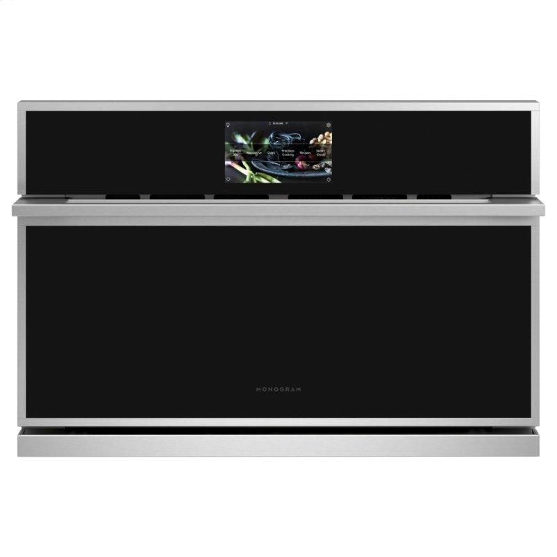 """Monogram 30"""" Smart Five in One Wall Oven with 120V Advantium® Technology"""